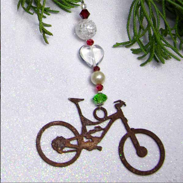 Bicibits Holiday Ornament Sun Catchers – Medium