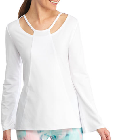 Nanette Lepore Criss Cross Cut-Out Pullover
