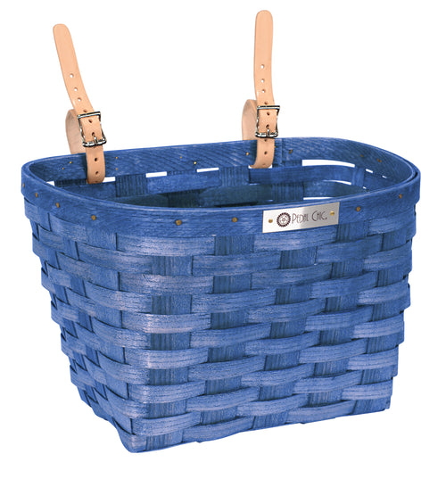 Pedal Chic Bike Basket Blue Large
