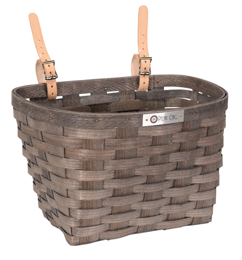 Pedal Chic Bike Basket Grey Large