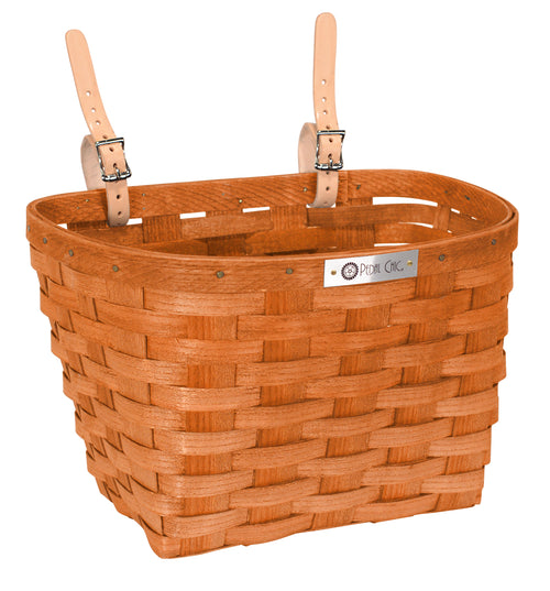 Pedal Chic Bike Basket Honey Large