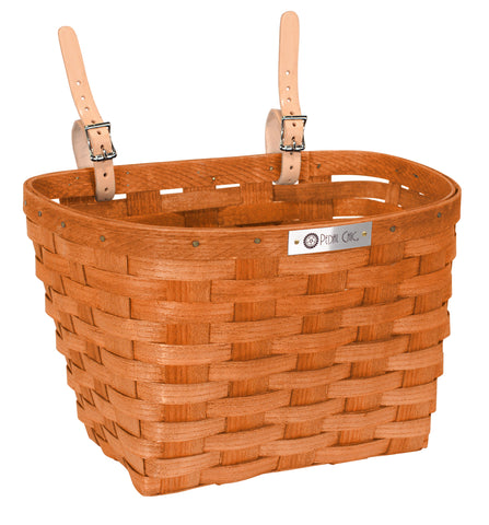 Pedal Chic Bike Basket Washed Pink Large