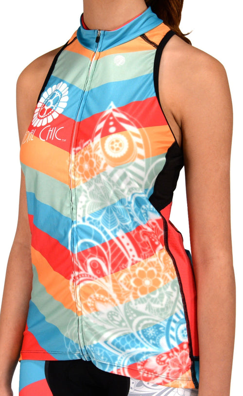 Pedal Chic Divine Sleeveless Jersey