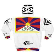 Load image into Gallery viewer, CHRONIC® AMERICA'S BRAND™ #FREETIBET Limited Edition Unisex Zip Hoodie