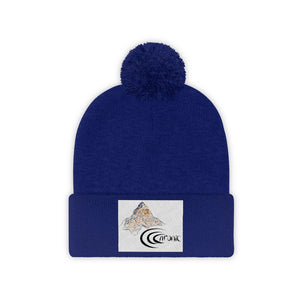 Chronic™ Team Label Pom Pom Beanie