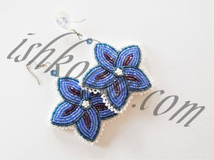 Night Flowers Floral Earrings