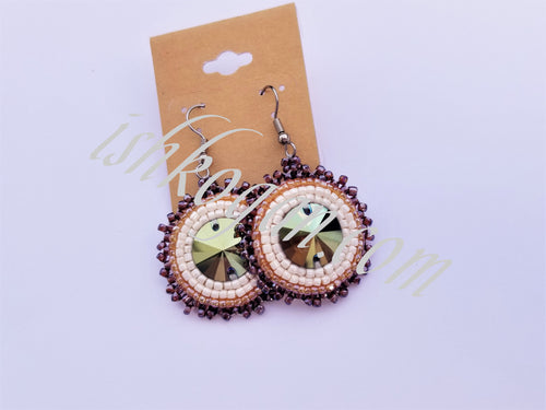Iridescent Earth Tones Earrings