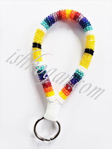 Beaded Rope Keychain