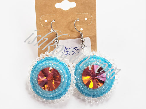 Astral Aqua Earrings
