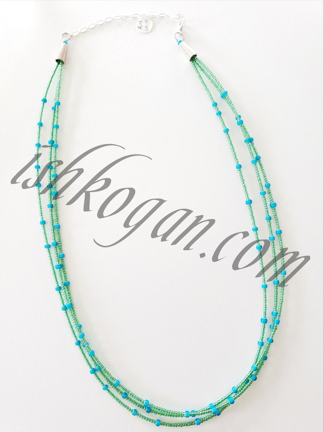 Sky Blue Statement Necklace