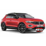 VW T-ROC 2021 Red