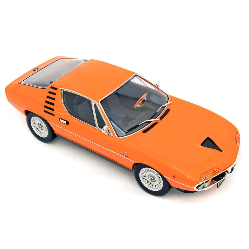 Alfa Romeo Montreal Diecast Model Car 1970 orange - 1:18 Scale-KK Scale-Diecast Model Centre