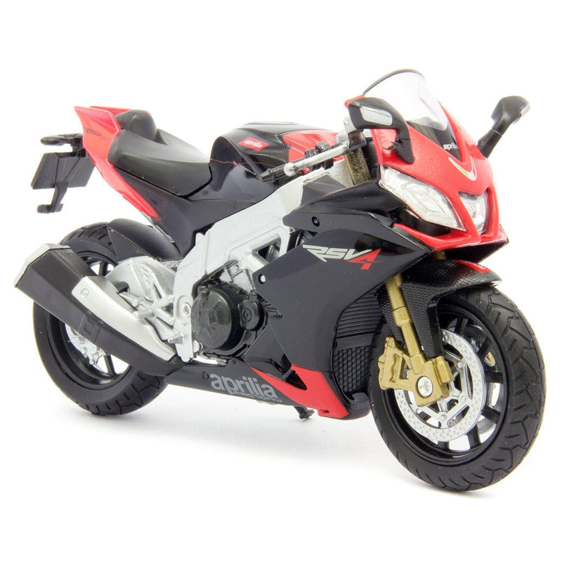 Aprilia RSV4 1000 Factory Diecast Model Motorcycle - 1:18 Scale-Welly-Diecast Model Centre