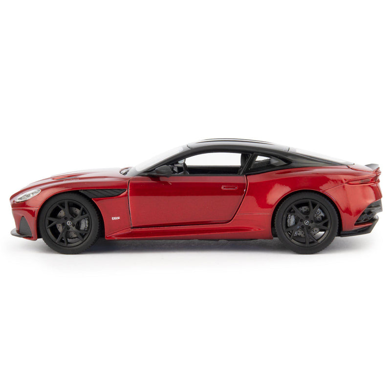 Aston Martin DBS Superleggera Diecast Model Car red - 1:24 Scale-Welly-Diecast Model Centre