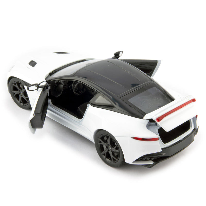 Aston Martin DBS Superleggera Diecast Model Car white - 1:24 Scale-Welly-Diecast Model Centre