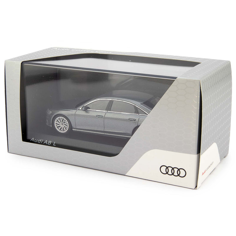 Audi A8 L Diecast Model Car grey - 1:43 scale-iScale-Diecast Model Centre