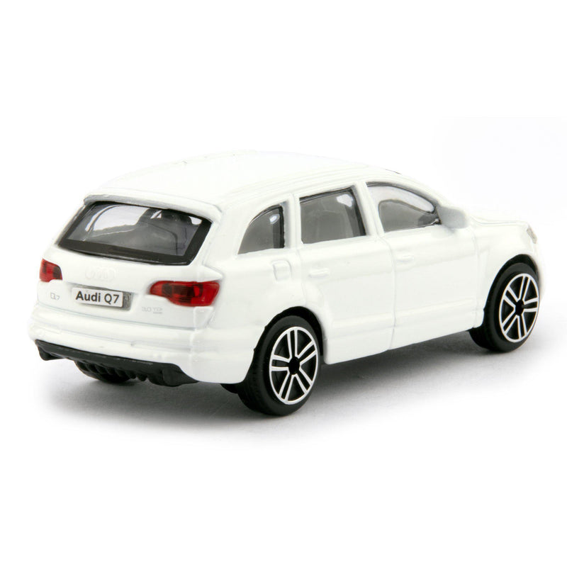 Audi Q7 Diecast Toy Car 2011 white - 1:43 Scale-Bburago-Diecast Model Centre