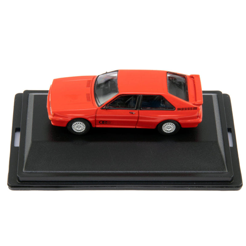 Audi Quattro Diecast Model Car Tornado Red - 1:76 Scale-Oxford Diecast-Diecast Model Centre