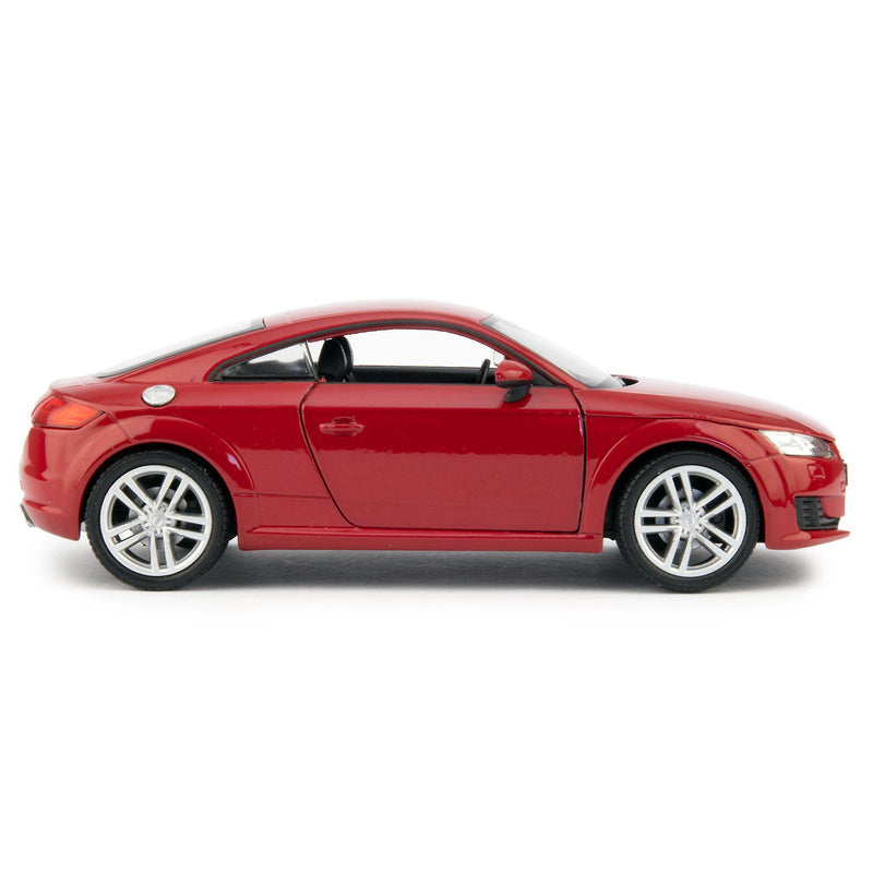 Audi TT Coupe Diecast Model Car 2014 red - 1:24 Scale-Welly-Diecast Model Centre