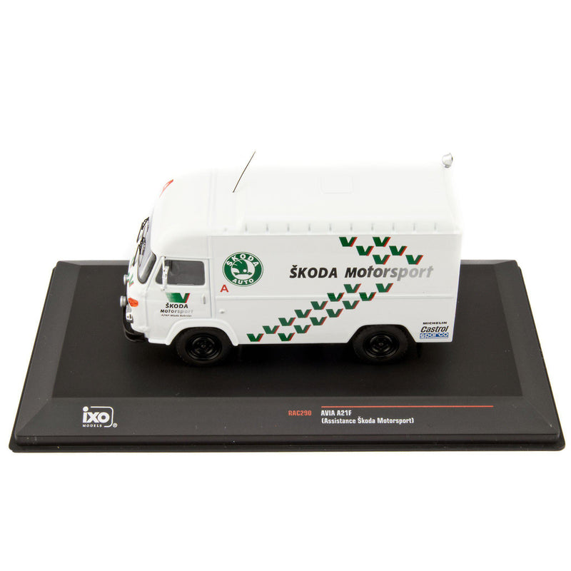 AVIA A21F Diecast Model Truck Skoda Motorsport Rally Assistance 1993 - 1:43 Scale-IXO-Diecast Model Centre