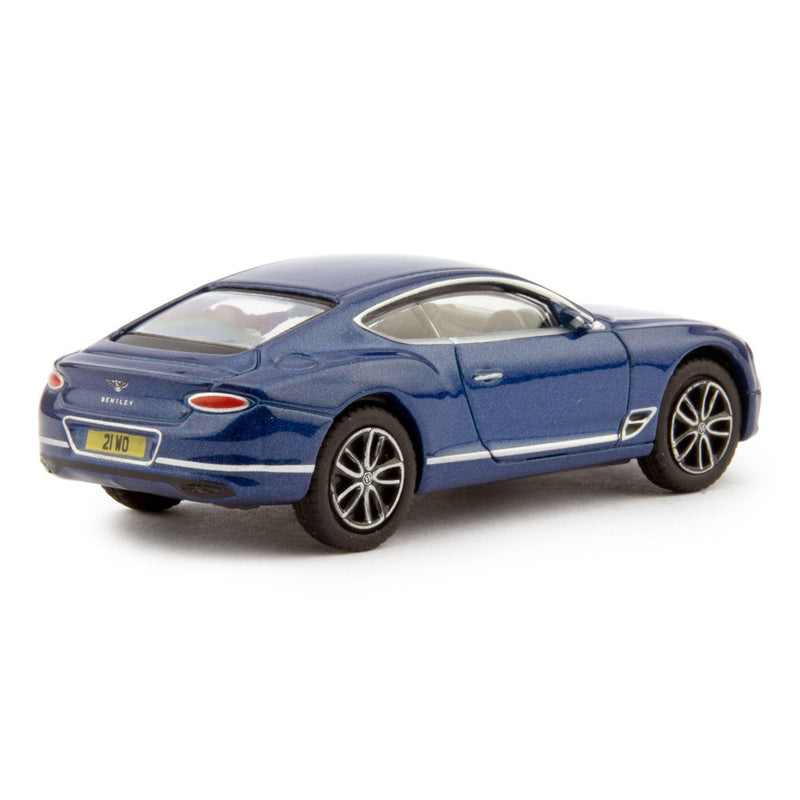 Bentley Continental GT Sport Diecast Model Car blue - 1:76 Scale-Oxford Diecast-Diecast Model Centre