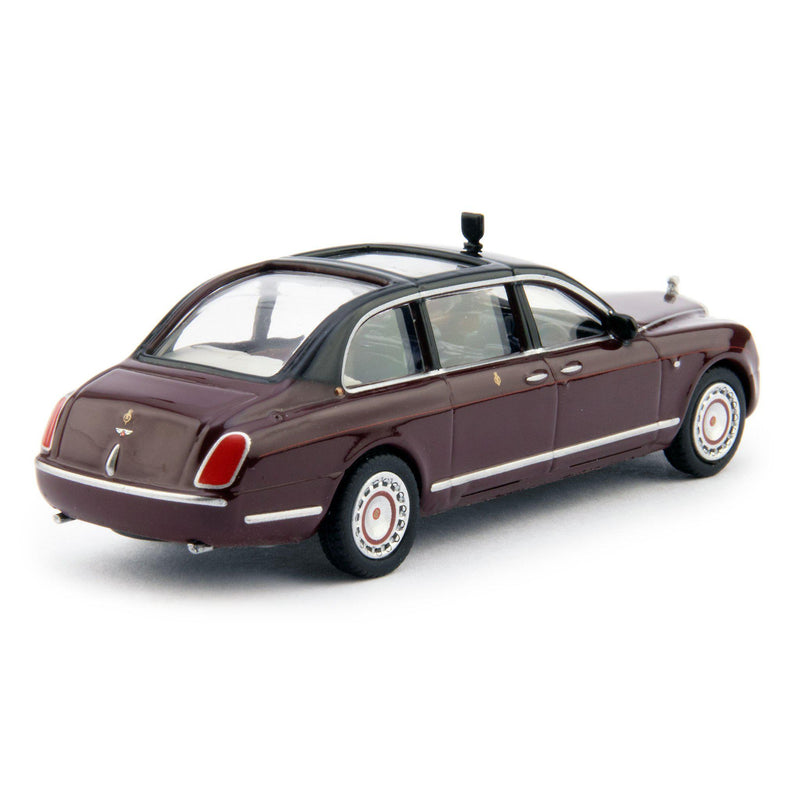 Bentley State Limousine HM The Queen Diecast Model Car - 1:76 Scale-Oxford Diecast-Diecast Model Centre