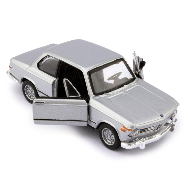 BMW 2002 tii Diecast Model Car 1972 silver - 1:32 Scale-Bburago-Diecast Model Centre