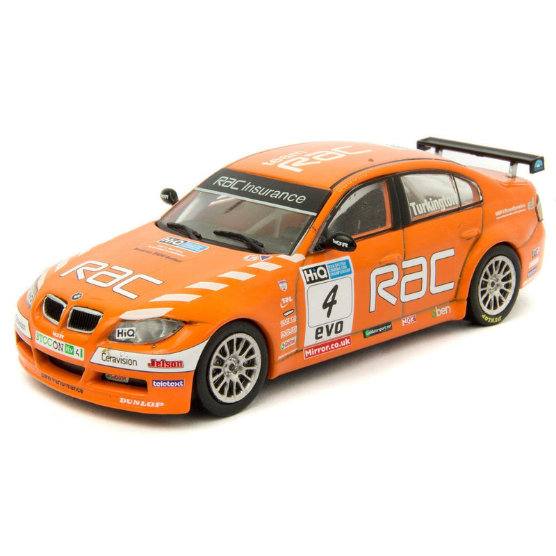 BMW 320si Diecast Model Car BTCC 2009 Turkington - 1:43 Scale-Atlas Editions-Diecast Model Centre