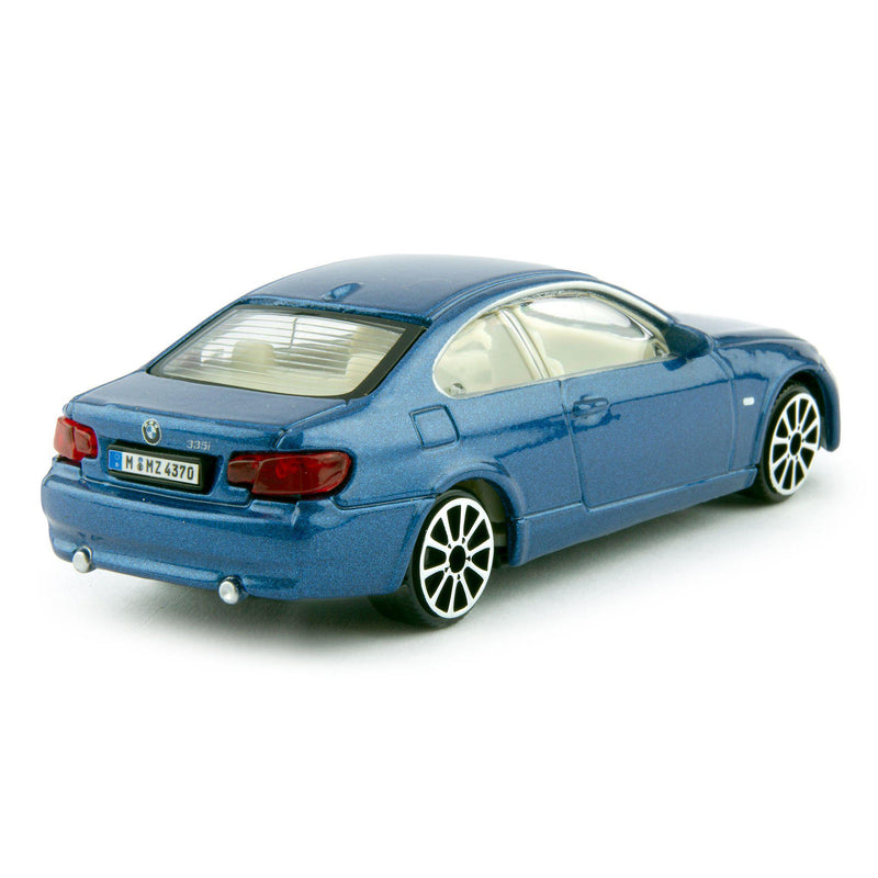 BMW 335i Diecast Toy Car 2008 blue - 1:43 Scale-Bburago-Diecast Model Centre