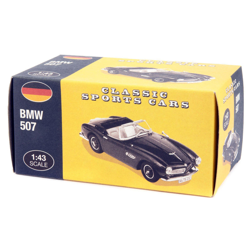 BMW 507 Diecast Model Car black - 1:43 Scale-Atlas Editions-Diecast Model Centre