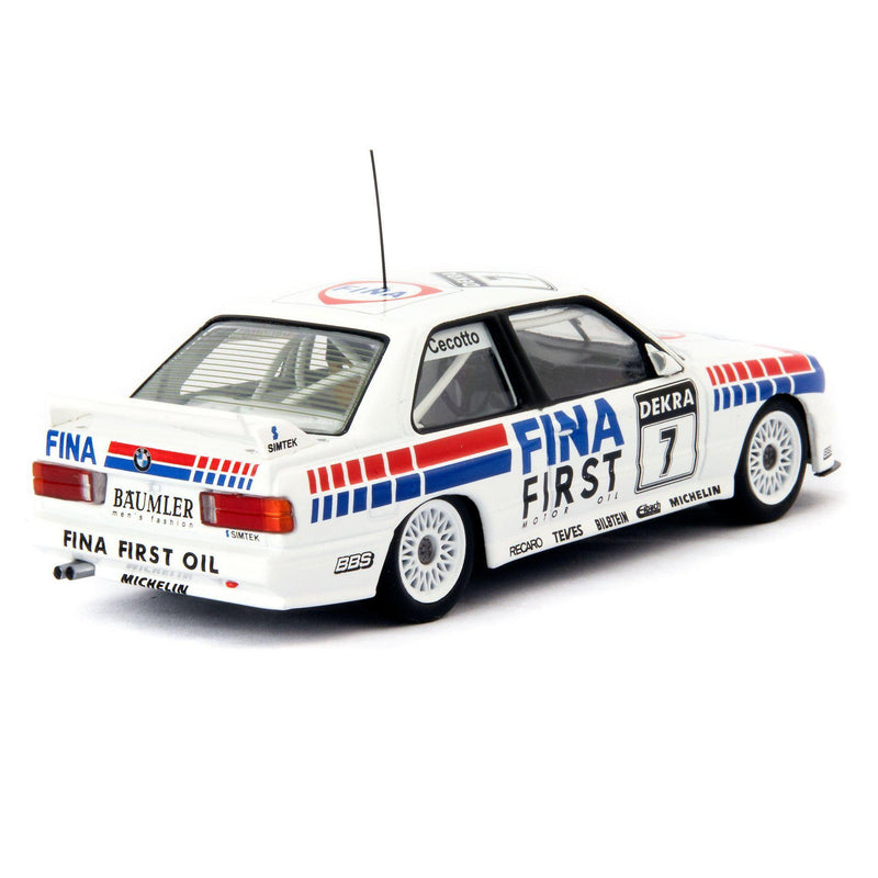 BMW M3 Diecast Model Car DTM Brno 1992 Cecotto - 1:43 Scale-Classic Model Replicars-Diecast Model Centre