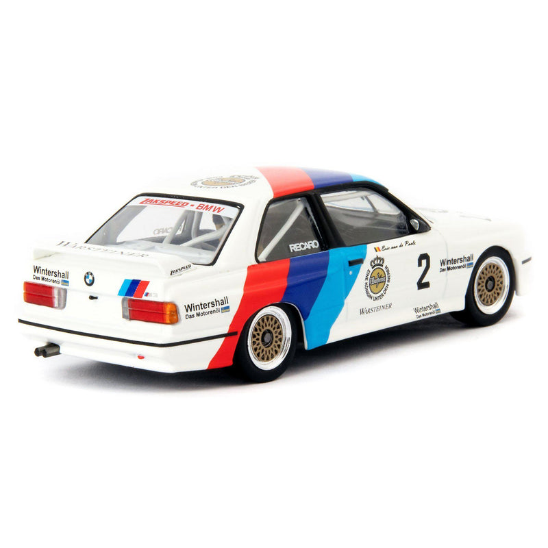 BMW M3 Diecast Model Car DTM Champion 1987 van de Poele - 1:43 Scale-Classic Model Replicars-Diecast Model Centre