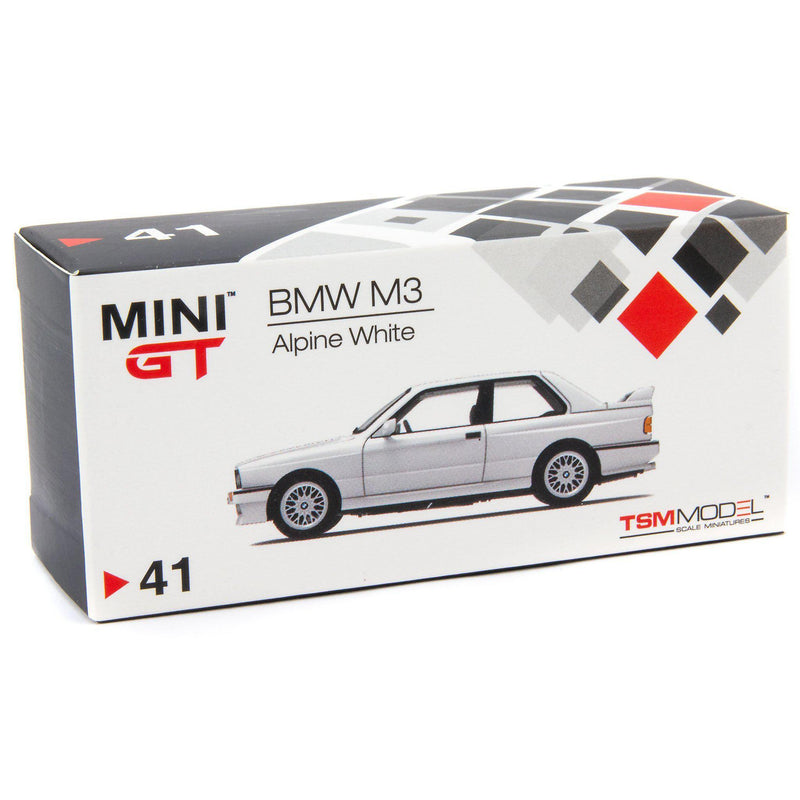 BMW M3 Diecast Model Car white - 1:64 Scale-TrueScale Miniatures-Diecast Model Centre
