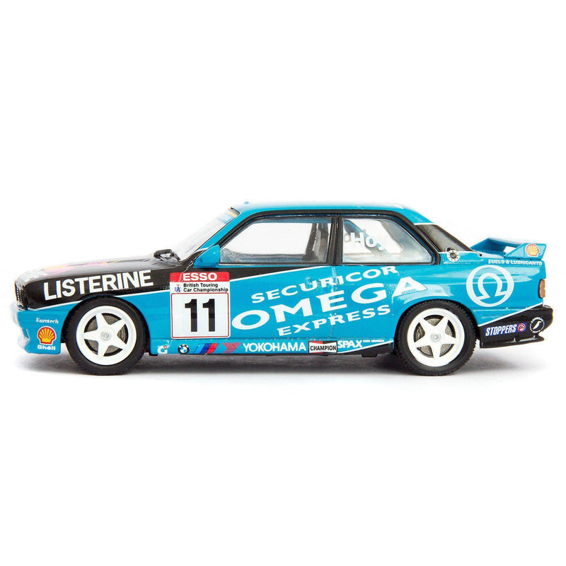BMW M3 (E30) Diecast Model Car BTCC 1991 Hoy - 1:43 Scale-Atlas Editions-Diecast Model Centre