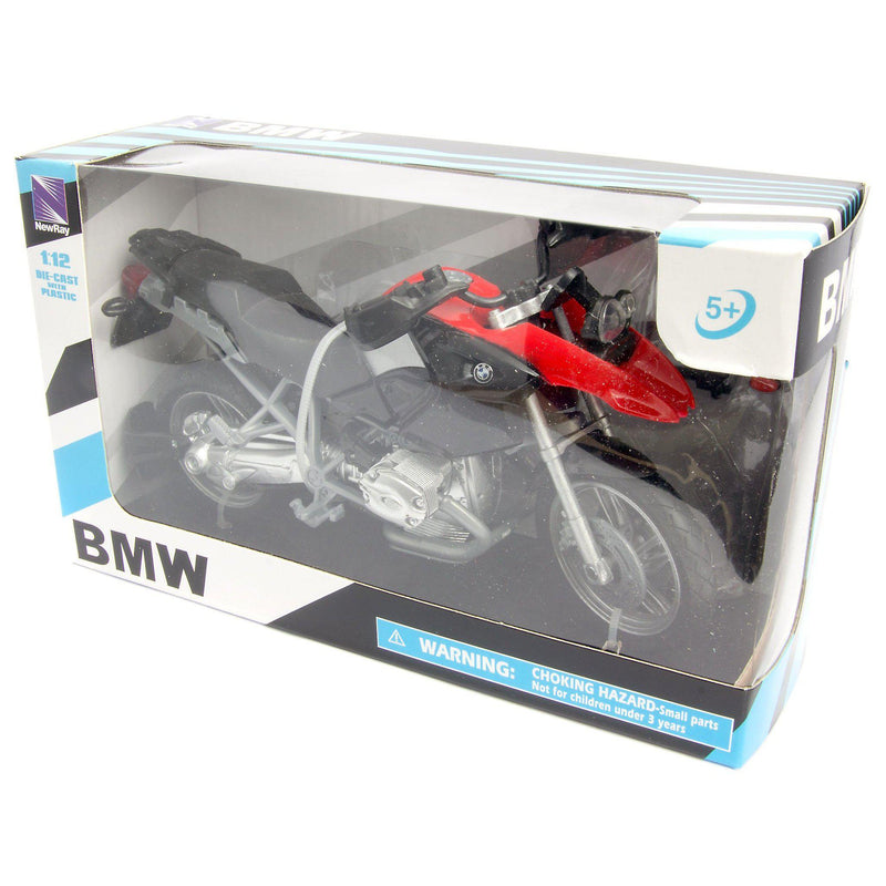 BMW R 1200 GS Diecast Model Motorcycle - 1:12 scale-NewRay-Diecast Model Centre