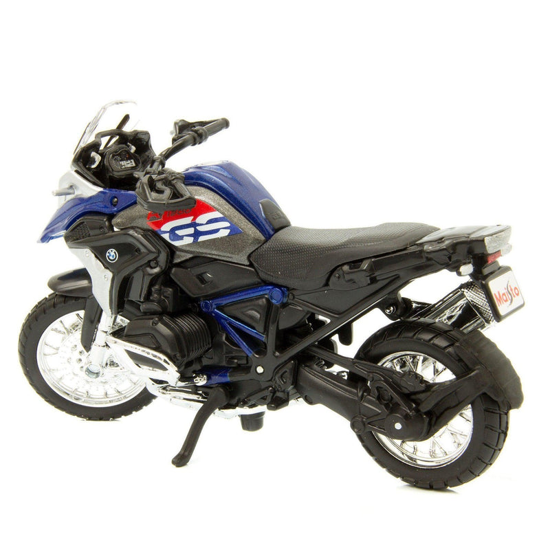 BMW R 1200 GS Diecast Model Motorcycle 2017 blue - 1:18 Scale-Maisto-Diecast Model Centre
