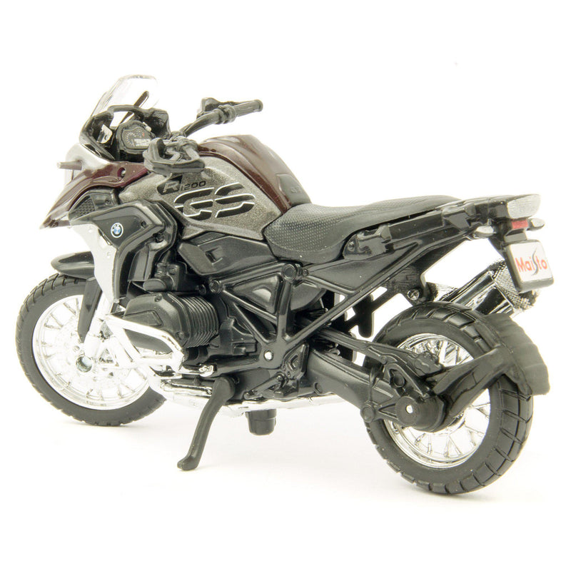 BMW R 1200 GS Diecast Model Motorcycle 2017 red - 1:18 Scale-Maisto-Diecast Model Centre