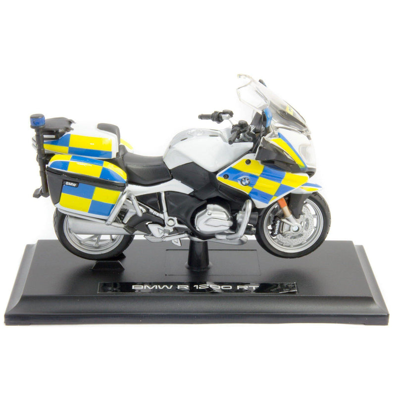 BMW R 1200 RT Diecast Model Motorcycle Police - 1:18 Scale-Maisto-Diecast Model Centre