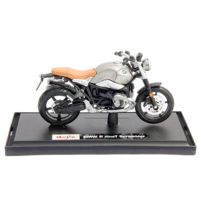 BMW R nineT Scrambler Diecast Model Motorcycle - 1:18 Scale-Maisto-Diecast Model Centre