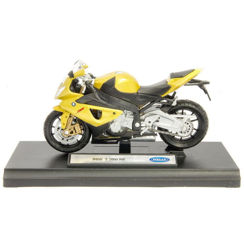 BMW S 1000 RR Diecast Model Motorcycle - 1:18 Scale-Welly-Diecast Model Centre