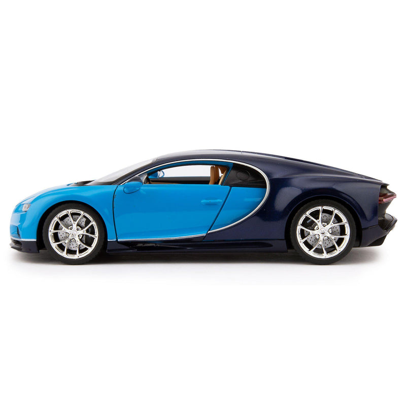 Bugatti Chiron Diecast Model Car 2016 blue - 1:24 Scale-Maisto-Diecast Model Centre