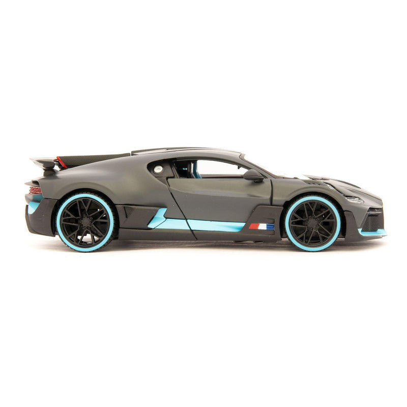 Bugatti Divo Diecast Model Car black - 1:24 Scale-Maisto-Diecast Model Centre