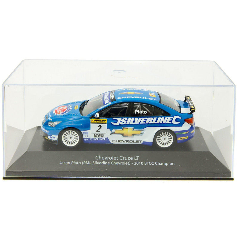 Chevrolet Cruze LT Diecast Model Car BTCC 2010 Plato - 1:43 Scale-Atlas Editions-Diecast Model Centre