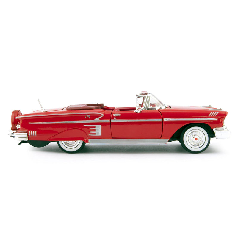 Chevrolet Impala Diecast Toy Car 1958 red - 1:24 Scale-Motormax-Diecast Model Centre