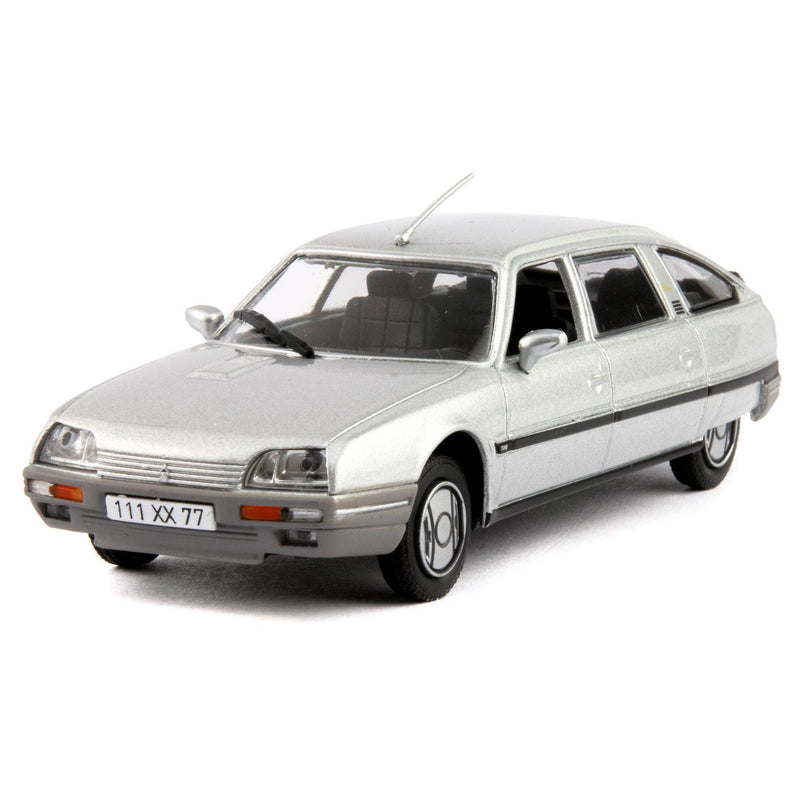 Citroen CX Turbo 2 Diecast Model Car 1986 silver - 1:43 Scale-Norev-Diecast Model Centre