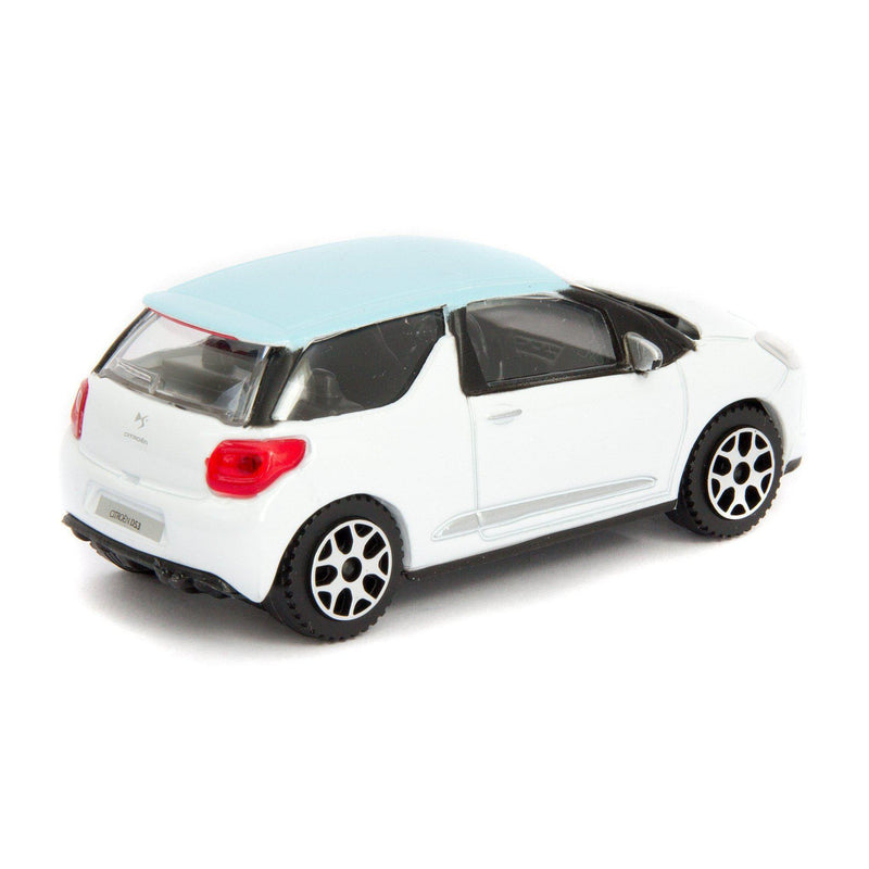 Citroen DS3 Diecast Toy Car 2007 - 1:43 Scale-Bburago-Diecast Model Centre