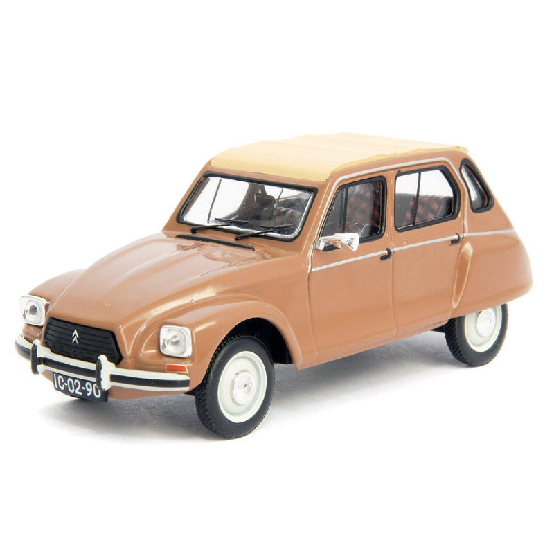 Citroen Dyane Nazare Diecast Model Car 1982 - 1:43 Scale-IXO-Diecast Model Centre