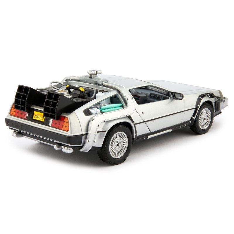 DeLorean Time Machine Diecast Model Car Back to the Future Part I - 1:24 scale-Welly-Diecast Model Centre