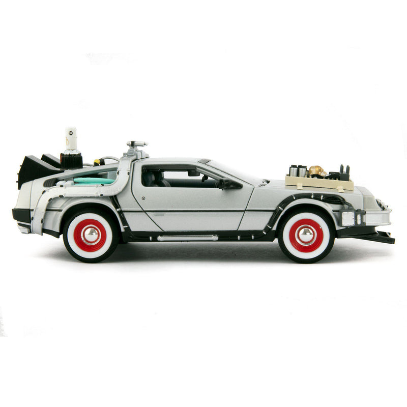 DeLorean Time Machine Diecast Model Car Back to the Future Part III - 1:24 scale-Welly-Diecast Model Centre
