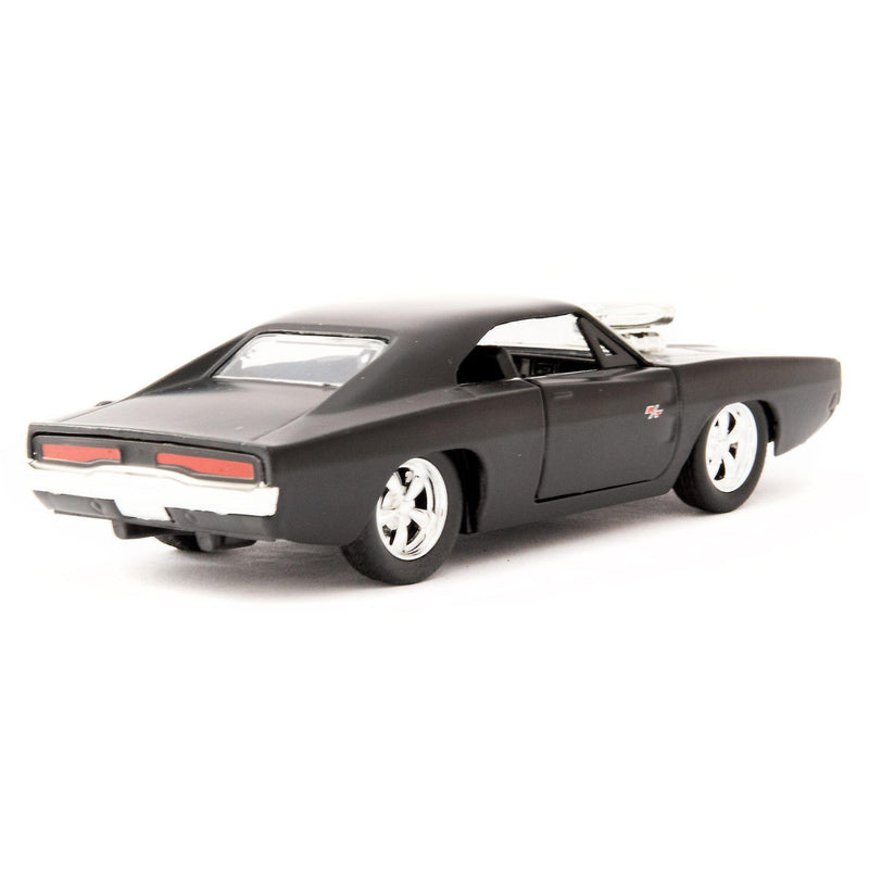 Dodge Charger R/T Diecast Model Car Dom's black - 1:32 scale-Jada-Diecast Model Centre